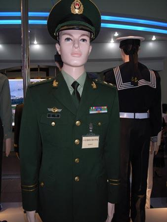 07式武警男警官春秋常服-甘肃省武警部队 今日起将统一换着07式新军图片