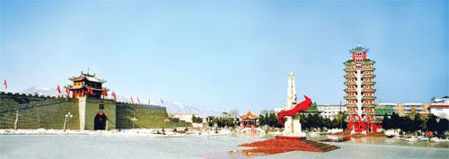 今天新闻头条_甘肃会宁县发展红色旅游_图片新闻_中国广播网